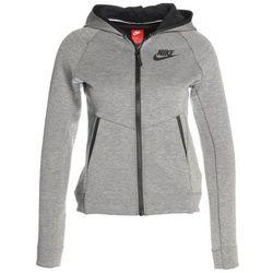 Nike Performance HOODIE Bluza rozpinana carbon heather/black/black