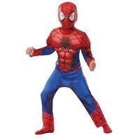 Przebrania dziecięce, Kostium Deluxe Spiderman z mięśniami dla chłopca - Roz. L