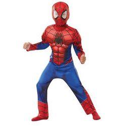 Kostium Deluxe Spiderman z mięśniami dla chłopca - Roz. L