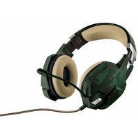 Pozostałe gry i konsole, Trust GXT 322C Gaming Headset - green camouflage