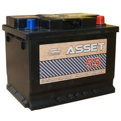 Akumulator Asset 12V 55Ah / 450A wysoka
