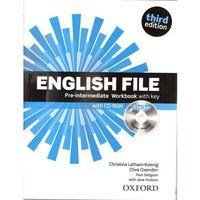 Książki do nauki języka, English File 3E Pre-Int WB With Key OXFORD - Praca zbiorowa (opr. broszurowa)