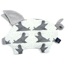 Podusia Sleepy Pig - Icy Seal - Dark Grey - La Millou - Velvet Collection