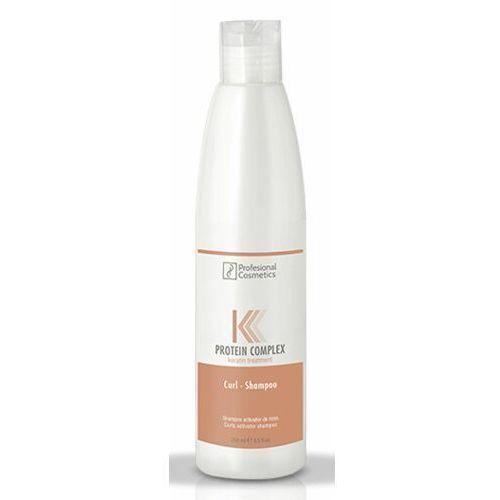 Mycie włosów, Profesional Cosmetics PROTEIN COMPLEX CURL SHAMPOO Szampon do włosów kręconych (1000 ml)