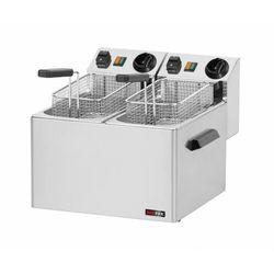 Frytownica elektryczna | 2x5L | 6000W | 360x420x(H)300mm