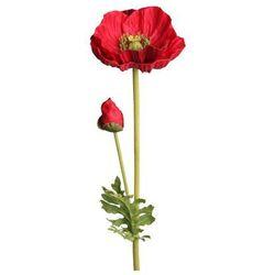 Mak sztuczny kwiat 72 cm