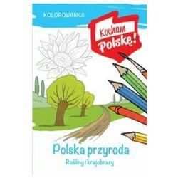 Kolorowanka polska przyroda rośliny i krajobrazy - krzysztof kiełbasiński
