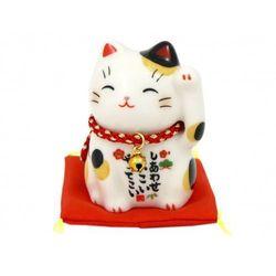 Figurka Maneki Neko Shiawase Hidari