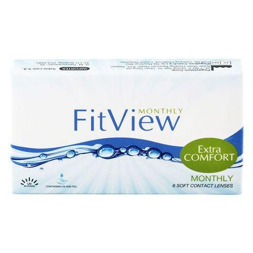 Soczewki kontaktowe, FitView Monthly 3 szt.