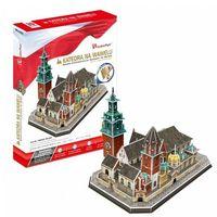 Puzzle, PUZZLE 3D Katedra na Wawelu 101 ELEMENTÓW