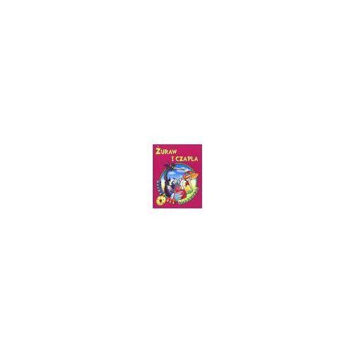 Książki dla dzieci, Bajka dla maluszka - żuraw i czapla (opr. broszurowa)