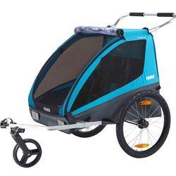 Thule Coaster XT Przyczepka rowerowa, blue 2019 Przyczepki dla dzieci Przy złożeniu zamówienia do godziny 16 ( od Pon. do Pt., wszystkie metody płatności z wyjątkiem przelewu bankowego), wysyłka odbędzie się tego samego dnia.