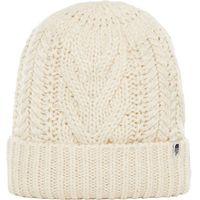 Odzież do sportów zimowych, The North Face czapka zimowa damska Cable Minna Beanie Vintage White OS - BEZPŁATNY ODBIÓR: WROCŁAW!