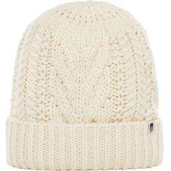 The North Face czapka zimowa damska Cable Minna Beanie Vintage White OS - BEZPŁATNY ODBIÓR: WROCŁAW!