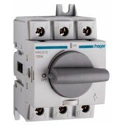Rozłącznik izolacyjny 100A 3P, obrotowy, HAC310 HAGER