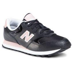 Sneakersy NEW BALANCE - WL393EP1 Czarny