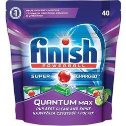Tabletki do zmywarek Finish Quantum Max jabłko i limonka 620 g (40 sztuk)