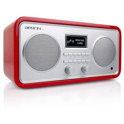 ARGON AUDIO iNet3+V2 CZERWONY - radio dostosowane do odtwarzania radia FM, DAB+, jak i radia internetowego | Zapłać po 30 dniach | Gwarancja 2-lata