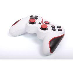 Kontroler 1BANDIT A8 Biało-czerwony (PS3)
