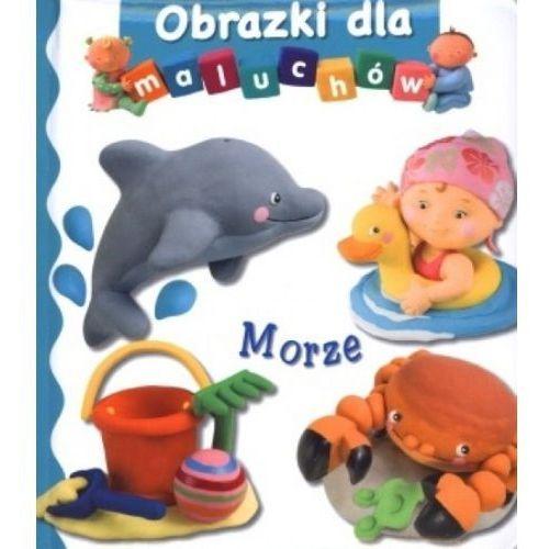 Książki dla dzieci, Morze. Obrazki dla maluchów (opr. kartonowa)
