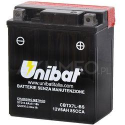 Akumulator UNIBAT AGM CBTX7L-BS 12V 6Ah 85A prawy+