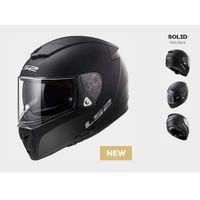Kaski motocyklowe, KASK LS2 FF390 BREAKER SOLID MATT BLACK ( czarny matt )