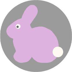 Dywan Agnella Soft Rabbit Pink/Róż (koło) 100x100