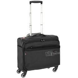 Roncato Venice 2.0 mała walizka kabinowa 42 cm / pilotka na laptopa 17'' / tablet 10'' / czarny