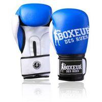 Rękawice do walki, Rękawice bokserskie BOXEUR BXT-5124 (rozmiar 12 oz) Niebieski