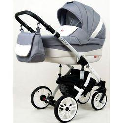 Sun Baby wózek 3w1 Raf-pol Lilly silver - BEZPŁATNY ODBIÓR: WROCŁAW!