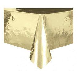 Obrus foliowy Złoty, błyszczący