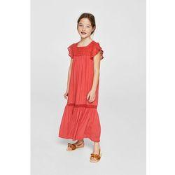 Mango Kids - Sukienka dziecięca Repic 110-152 cm