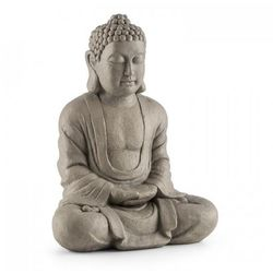 Blumfeldt Siddhartha Figurka ozdoba ogrodowa imitacja kamienia naturalnego