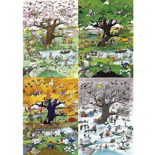 Puzzle, Puzzle 2000 elementów - Cztery pory roku