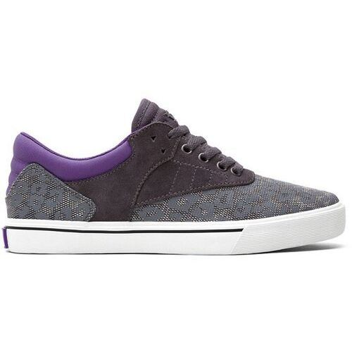 Męskie obuwie sportowe, buty SUPRA - Spectre - Griffin Lowt Grey Leopard/Purple - White (GLP) rozmiar: 42