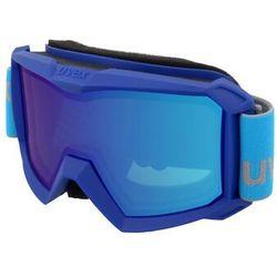 UVEX Flizz FM Gogle Dzieci, blue/mirror blue 2020 Gogle narciarskie
