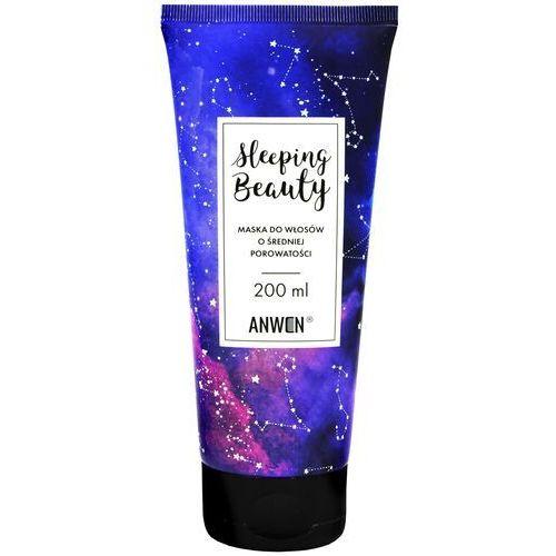 Odżywianie włosów, Anwen - maska sleeping beauty do włosów o średnioporowatych - 200 ml