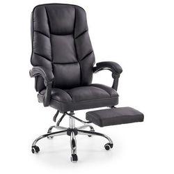 Fotel gabinetowy obrotowy HALMAR ALVIN, wysuwany podnóżek, Negocjuj cenę