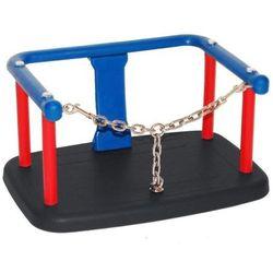 Huśtawka kubełkowa z łańcuszkiem na publiczny plac zabaw