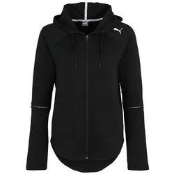 PUMA Bluza rozpinana sportowa 'Evostripe Move' czarny / biały