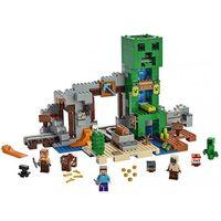 Klocki dla dzieci, LEGO zestaw Minecraft 21155 Kopalnia Creeperów