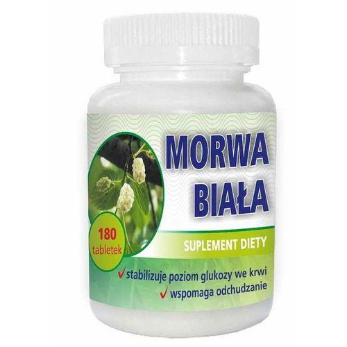 Leki na cukrzycę, Morwa biała ekstrakt z liści 120mg 180 tabletek DOMOS