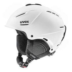 UVEX kask narciarski P1us 2.0 - white mat (52-55 cm)