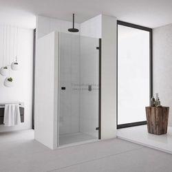 Sanswiss Annea drzwi do wnęki uchylne 100 cm prawe czarne AN1CD10000607