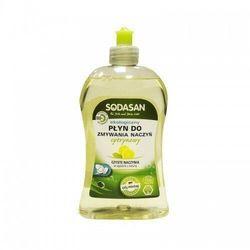 SODASAN Płyn do zmywania naczyń o zapachu CYTRYNOWYM 500ml