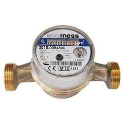 Wodomierz do zimnej wody Ecomess Picoflux 3/4 4 m3/h