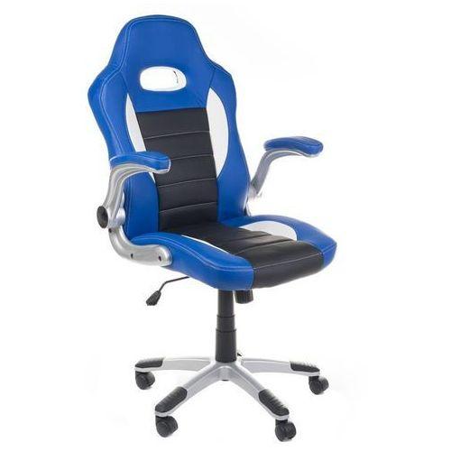 Fotele dla graczy, Fotel gamingowy RACER CorpoComfort BX-6923 Niebies