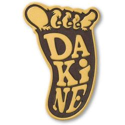 grip DAKINE - Shakasquatch Stomp Brown (BROWN) rozmiar: OS