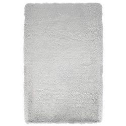 Dywan NEW SOFT srebrny 160 x 230 cm wys. runa 30 mm INSPIRE