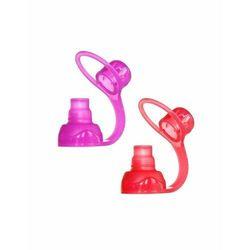 ChooMee SoftSip 2 PACK Red/Purple Uniwersalny ustnik silikonowy do saszetek pokarmowych